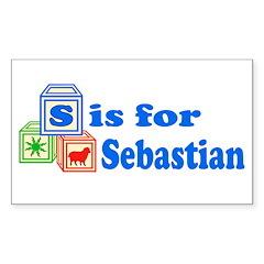 Baby Blocks Sebastian Decal