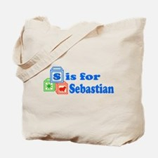 Baby Blocks Sebastian Tote Bag