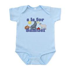 S is for Samuel Infant Bodysuit
