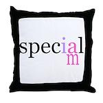 i am special Throw Pillow