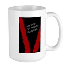 We are of peace Mug