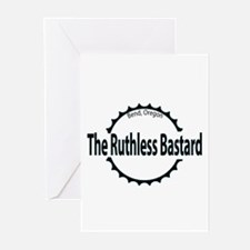 Ruthless Bastard Mt. Biker Greeting Cards (Package