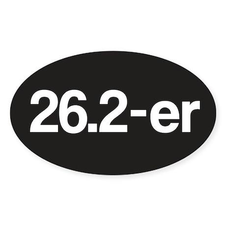 26.2-er Marathoner Sticker (Oval)