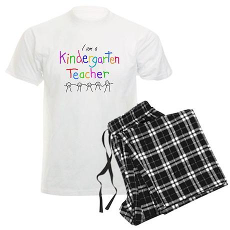 Kindergarten Teacher Men's Light Pajamas