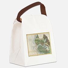 Vintage Oakland and San Antonio C Canvas Lunch Bag