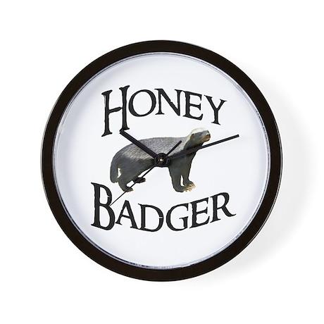 Honey Badger Wall Clock
