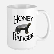 Honey Badger Large Mug