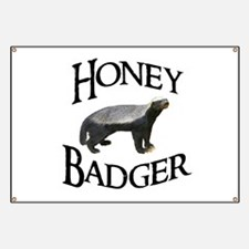 Honey Badger Banner
