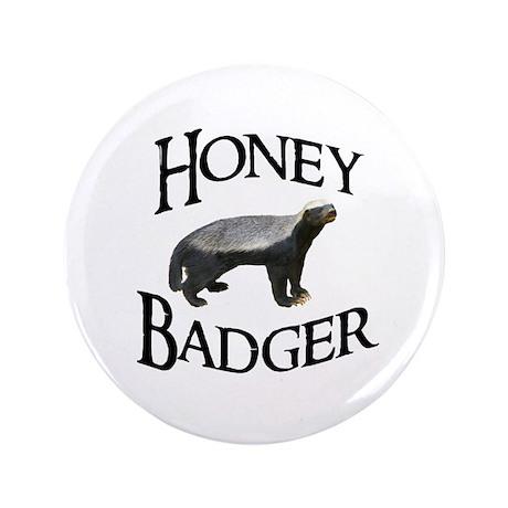 "Honey Badger 3.5"" Button (100 pack)"