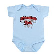 Accountants Rock Infant Bodysuit