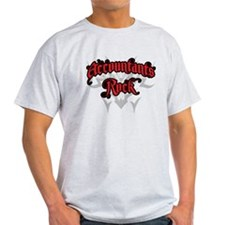 Accountants Rock T-Shirt