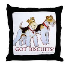 Got Biscuits? Throw Pillow