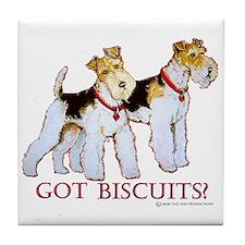 Got Biscuits? Tile Coaster