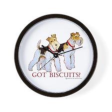 Got Biscuits? Wall Clock