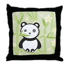 EMO PANDA Throw Pillow