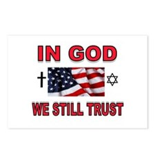 TRUST IN GOD Postcards (Package of 8)
