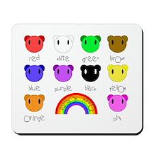 Rainbow Hippo Mousepad