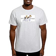 Got Wires? Ash Grey T-Shirt