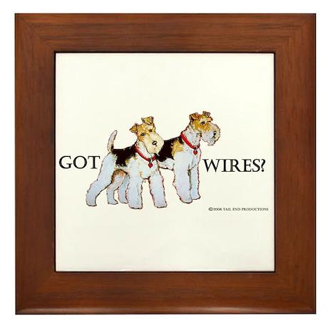 Got Wires? Framed Tile
