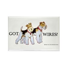 Got Wires? Rectangle Magnet
