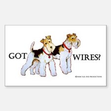 Got Wires? Rectangle Decal