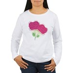 ROSES DECOR Women's Long Sleeve T-Shirt