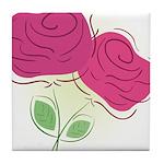 ROSES DECOR Tile Coaster