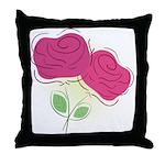 ROSES DECOR Throw Pillow