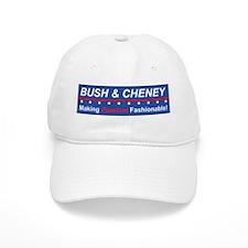 Bush & Cheney: Making Fascism Fashionable! (Baseball Cap)