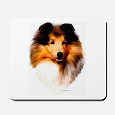 """Sheltie Headstudy"" Mousepad"