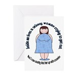 Skinny Funnys Greeting Cards (Pk of 10)