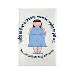 Skinny Funnys Rectangle Magnet (100 pack)