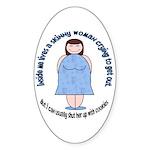 Skinny Funnys Oval Sticker