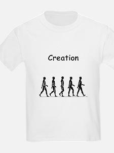 Creation Black T-Shirt