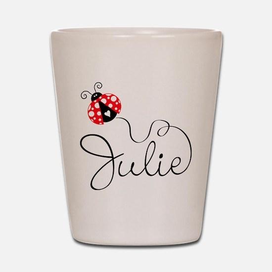 Ladybug Julie Shot Glass