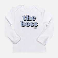 THE BOSS Long Sleeve Infant T-Shirt