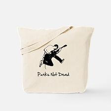 Punks Not Dead Tote Bag
