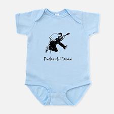 Punks Not Dead Infant Bodysuit
