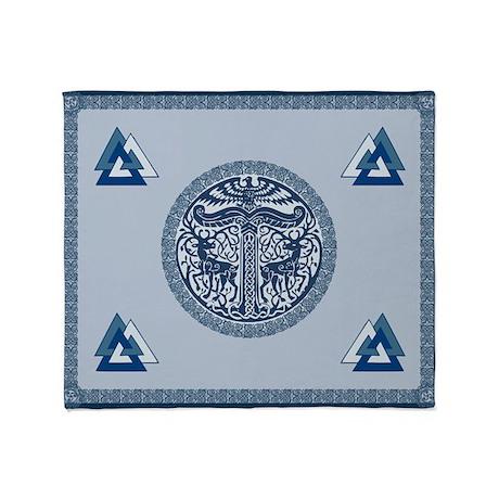 Single-Sided Asatru Blanket / Tapestry