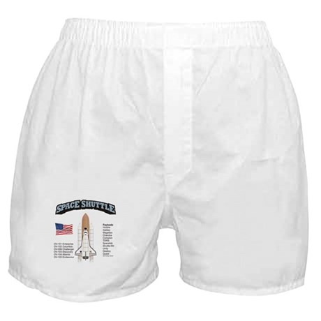 Space Shuttle History Boxer Shorts
