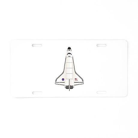 Shuttle Atlantis Aluminum License Plate