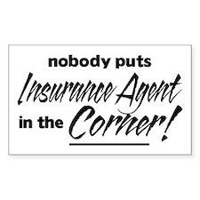 Insurance Nobody Corner Bumper Stickers