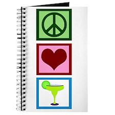 Peace Love Margaritas Journal
