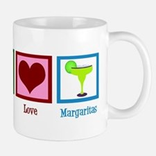 Peace Love Margaritas Mug