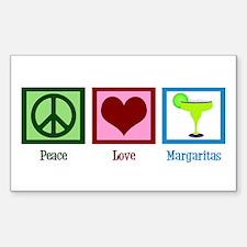 Peace Love Margaritas Decal