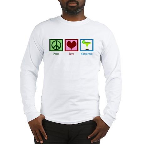 Peace Love Margaritas Long Sleeve T-Shirt