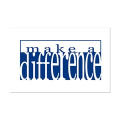 Make a Difference - 4 styles Posters