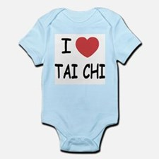 I heart tai chi Infant Bodysuit