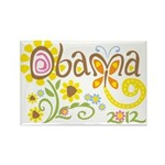 Obama Garden Rectangle Magnet