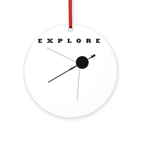 Voyager / Explore Ornament (Round)